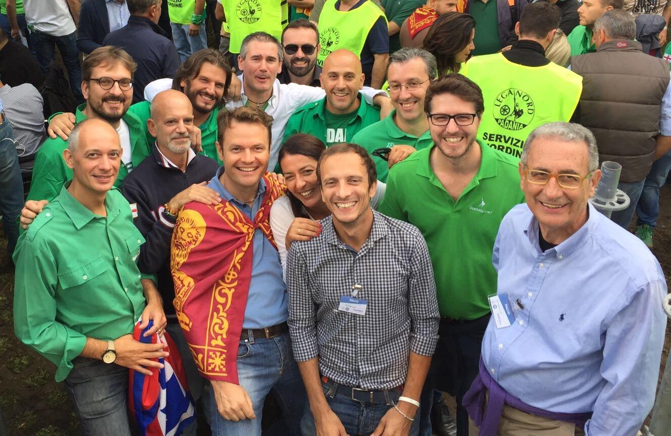 Pontida Lega Nord Deputati