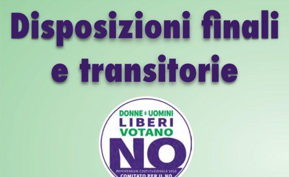 #iovotoNO transitorie
