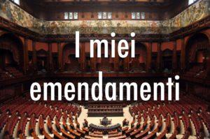 Emendamenti Borghesi