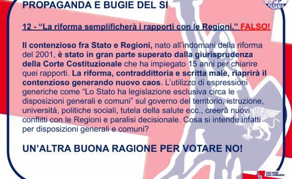 Propaganda 12 regioni