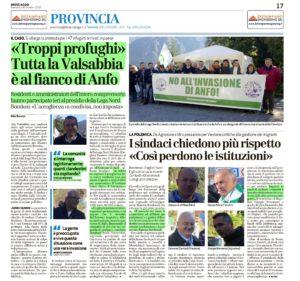 Anfo Profughi Bresciaoggi