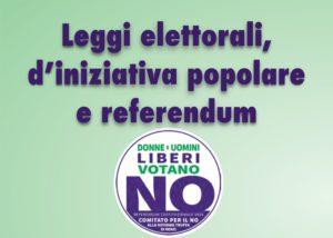 #iovotoNO leggi