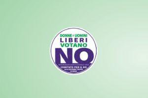Incontri #iovotoNO logo comitato NO