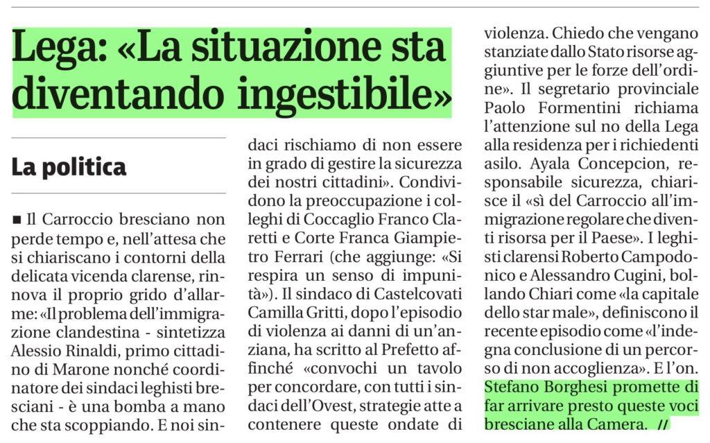 Giornale di Brescia Chiari