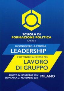 Scuola politica leadership